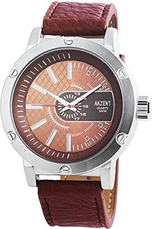 Akzent Reloj analógico para Hombre de Cuarzo con Correa en Varios Materiales SS7527000012