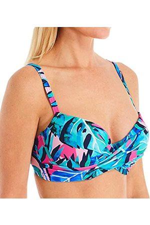 Pour Moi ? Free Spirit Lightly Padded U/w Twist Front Top Parte Superior de Bikini