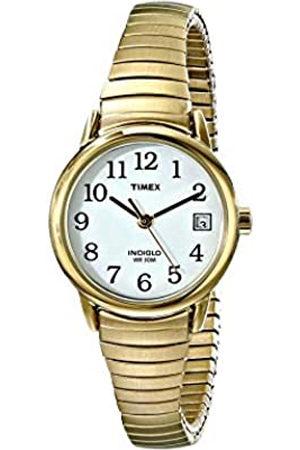 Timex Reloj analógico para Mujer de Cuarzo con Correa en Acero Inoxidable T2H351