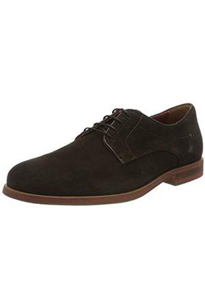 Geox U Bayle B, Zapatos de Cordones Derby para Hombre, (Dk Brown C6006)