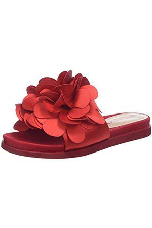 Fornarina Flower1, Sandalias con Punta Abierta para Mujer, (Rosso)