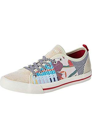 Desigual Shoes Alpha Patch, Zapatillas para Mujer, (Cream 1011)