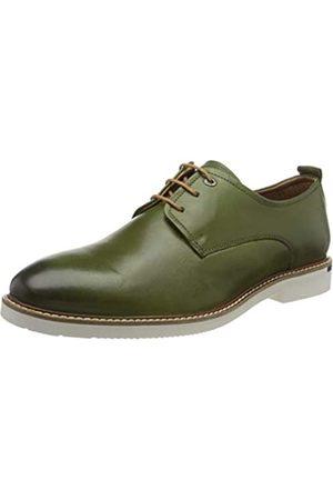 Salamander Harlin, Zapatos de Cordones Derby para Hombre, (Dark Green 06)