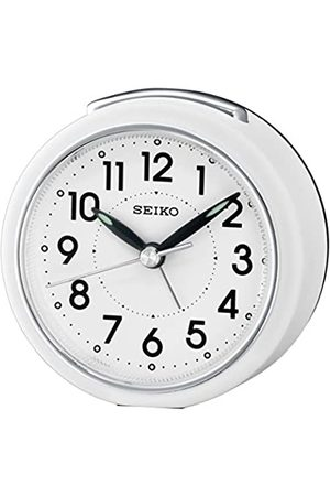 Seiko QHE125W - Despertador analógico (plástico)