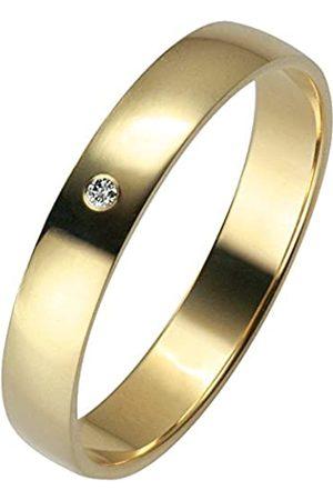 Trauringe Liebe hoch zwei Liebe²03500321405056-Anillounisexdeoroamarillo(14k)con1diamante(talla:16)