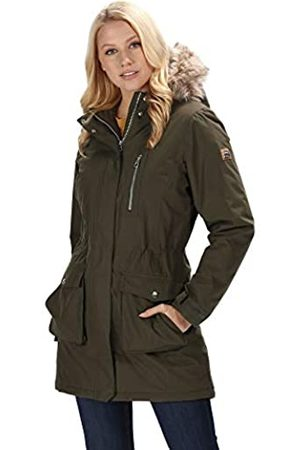 Regatta Serleena Waterproof & Thermo-Guard Insulated Faux Fur Hooded Parka Jacket Chaquetas Aislamiento Impermeable, Mujer