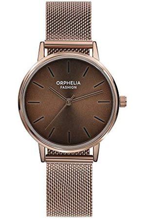 ORPHELIA Reloj Analógico para Mujer de Cuarzo con Correa en Acero Inoxidable OF714809