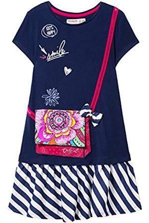 Desigual Girl Knit Dress Short Sleeve (Vest_Carson) Vestido