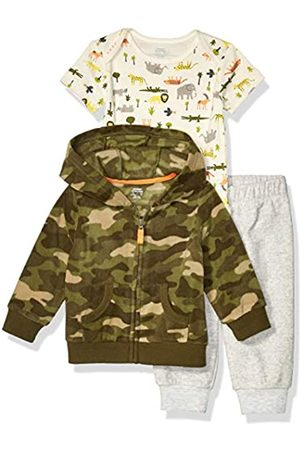 Amazon Essentials 3-Piece Microfleece Hoodie Set Infant-and-Toddler-Pants-Clothing-Sets