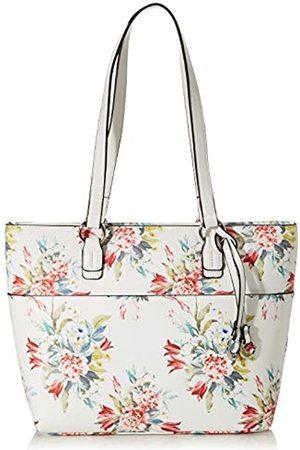 Gabor FloresMujerShoppers y bolsos de hombroBlanco (Blumen Weiß) 37.5x27.5x12 Centimeters (W x H x L)