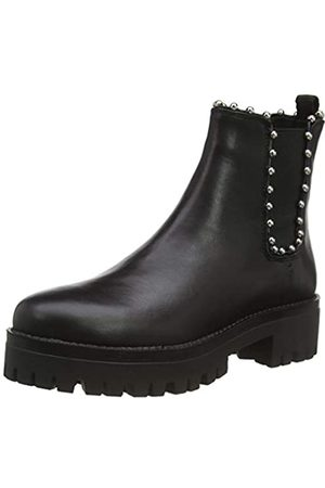 Steve Madden Aiken Bootie, Botas Chelsea para Mujer, (Black Leather 017)