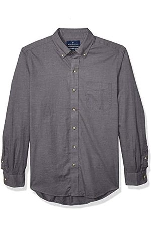 Buttoned Down Classic Fit Supima Cotton Brushed Twill Plaid Sport Shirt Button-Down-Shirts