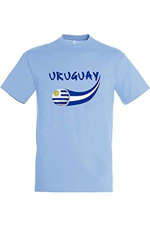 Supportershop – Camiseta Uruguay Hombre, Cielo