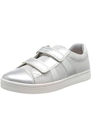 Geox J Djrock Girl C, Zapatillas para Niñas, (Silver C1007)