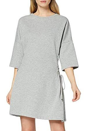FIND Vestido Midi con Detalle Cruzado para Mujer