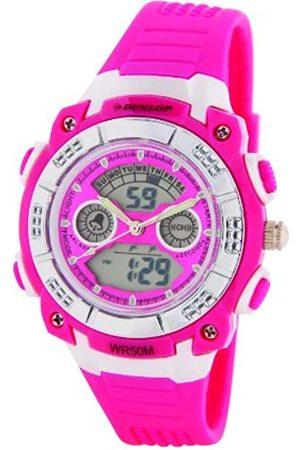 Dunlop Reloj Digital para Mujer de Cuarzo con Correa en Acero Inoxidable DUN244L55
