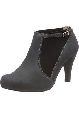Clarks Dalia Pearl, Zapatos de Tacón para Mujer, (Dark Grey Nubuck)