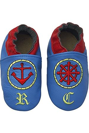 Rose & Chocolat RCC Sailor Blue - Pantuflas para bebé-niños, Color (Blue)