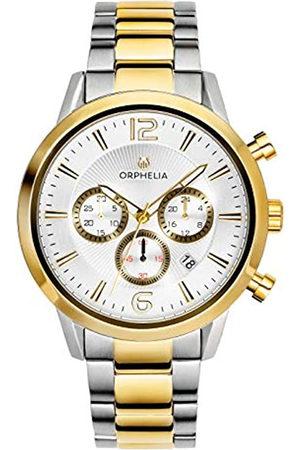 ORPHELIA Reloj Cronógrafo para Hombre de Cuarzo con Correa en Acero Inoxidable OR82809