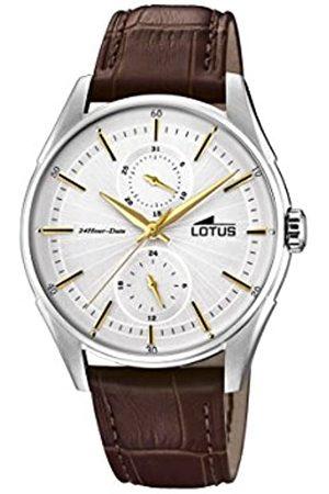 Lotus Reloj Multiesfera para Hombre de Cuarzo con Correa en Cuero 18523/1