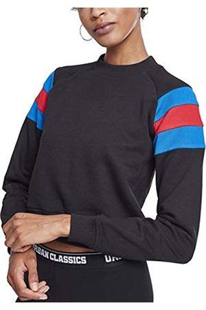 Urban classics Ladies Sleeve Stripe Crew Sudadera