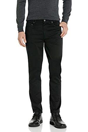 Buttoned Down Pantalón Chino de Sarga de 5 Bolsillos, fácil Cuidado, elástico Casual-Pants