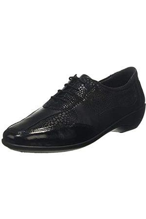 Padders Quartz, Zapatos de Cordones Oxford para Mujer, (Black 38)