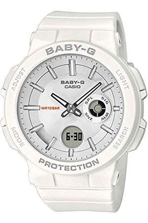 Casio Reloj Analógico-Digital para Mujer de Cuarzo con Correa en Resina BGA-255-7AER