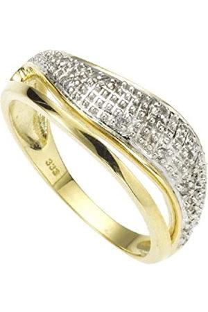 ELLEN K. DiamondsbyEllenK.360370208-1-016-Anillodedeorobicolor(14k)condiamantes(talla:10)