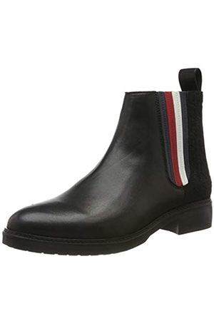 Tommy Hilfiger Sporty Monogram Flat Bootie, Botines para Mujer