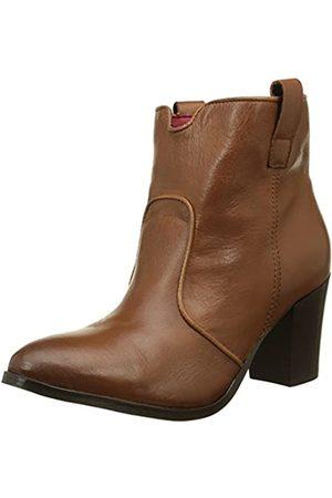 Buffalo ES 30819 Garda, Botas Camperas para Mujer, (Caramelo 01)