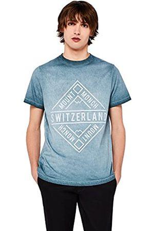 FIND Camiseta Estampada Switzerland Hombre