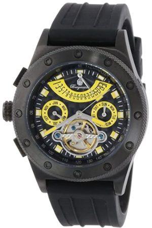 Burgmeister BM172-622D - Reloj analógico automático para Hombre con Correa de Silicona