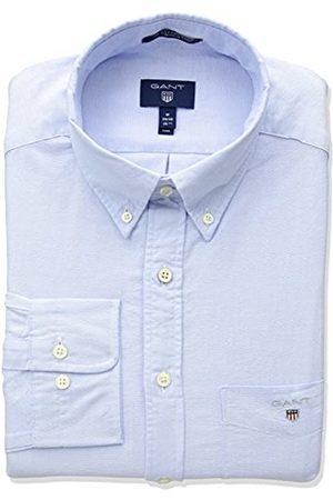 GANT The Oxford Shirt Reg BD Camiseta Deporte, (Capri Blue)