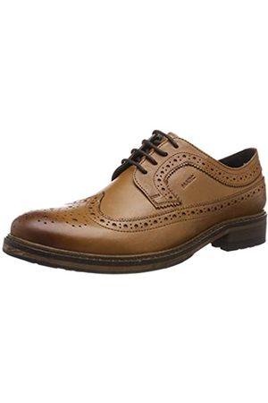 Marc Brentwood, Zapatos de Cordones Brogue para Hombre, (Cow Velvet Cognac 00941)