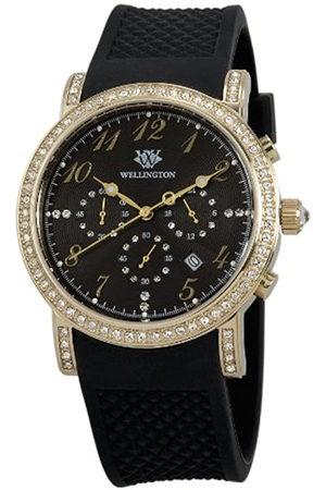 Wellington Fairlie WN504-222 - Reloj analógico de Cuarzo para Mujer con Correa de Silicona