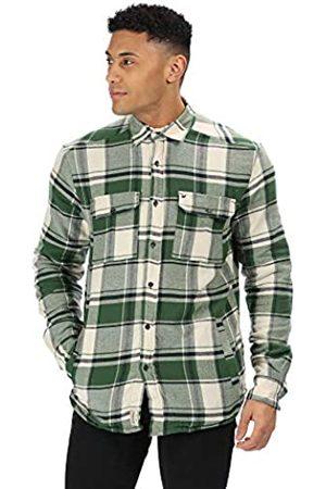 Regatta Tygo - Camiseta de Manga Corta para Hombre (algodón, Forro Polar), Hombre, RMS130 XY160