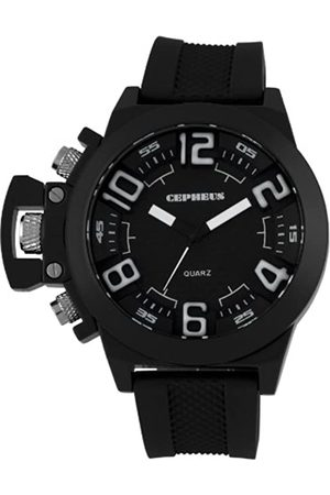 CEPHEUS CP901-622A - Reloj analógico de Cuarzo para Hombre con Correa de Silicona