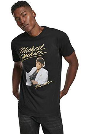 MERCHCODE Michael Jackson Thriller Album Camiseta, Hombre