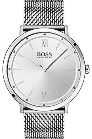 HUGO BOSS Reloj Analógico para Hombre de Cuarzo con Correa en Acero Inoxidable 1513650