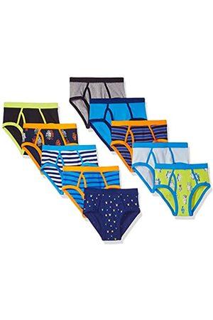 Spotted Zebra 10-Pack Brief Underwear Briefs, 3 años