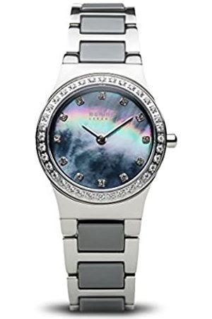 Bering Reloj Analógico para Mujer de Cuarzo con Correa en Acero Inoxidable 32426-789