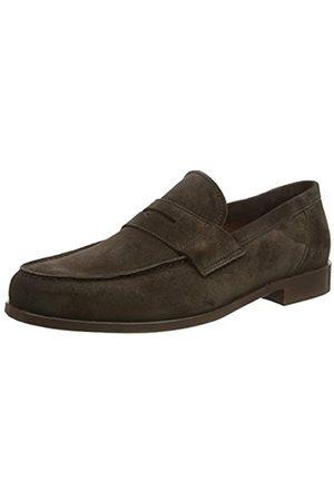 Lottusse L7212, Mocasines (Loafer) para Hombre, (Camoscio Moka Camoscio Moka)