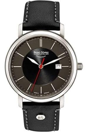 Soehnle Bruno Söhnle Reloj de Pulsera Hombre Legato analógico de Cuarzo Piel 17 – 13138 – 741