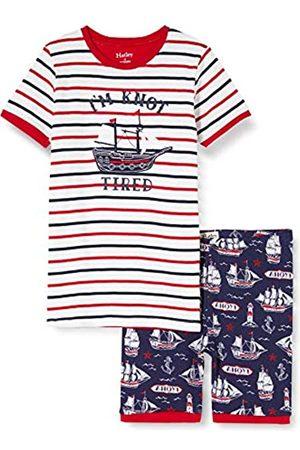 Hatley Organic Cotton Short Sleeve Appliqué Pyjama Sets Conjuntos de Pijama