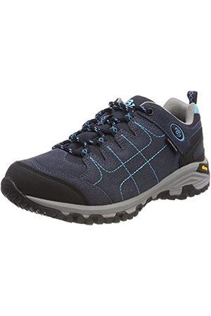 Bruetting Mount Shasta, Zapatos de Low Rise Senderismo para Mujer, Marine/Türkis