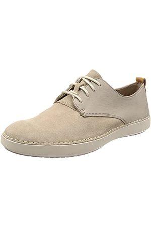 Clarks Komuter Walk, Zapatos de Cordones Derby para Hombre, (Sand Combi)