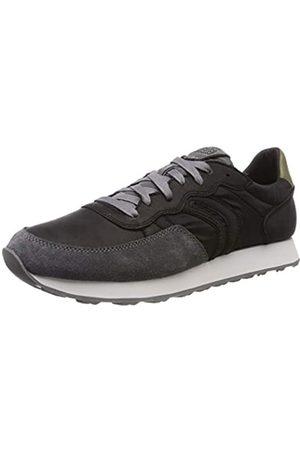 Geox U Vincit C, Zapatillas para Hombre, (Black/Dk Grey)