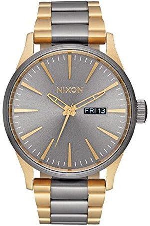 NIXON Reloj Analógico para Hombre de Cuarzo con Correa en Acero Inoxidable A356-595-00