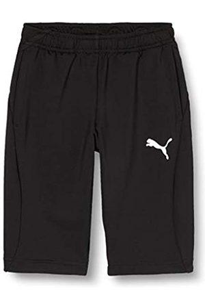 Puma Liga Training 3/4 Pants Jr Pantalones, Unisex Niños, Black White